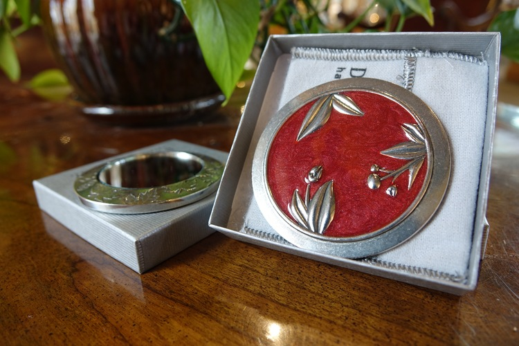 Pewter Purse Mirrors